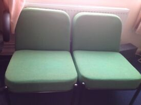 2 conference chairs in a very nice condition