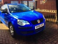 2006 Volkswagen polo 1.2 3 door hatchback blue 5 nth mot full service history