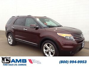 2012 Ford Explorer 4WD Limited 302A Navigation Trailer tow Moonr
