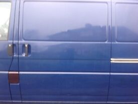 Volkswagen T4 transporter side door rust free