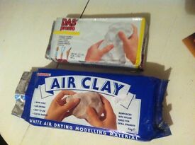 Humbrol Air Drying Clay White 1Kg