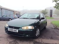 Mitsubishi Colt 1.6 GLX Automatic full year mot cheap reliable runabout