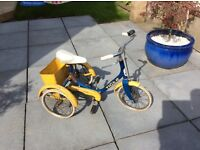 Very old Raleigh trike