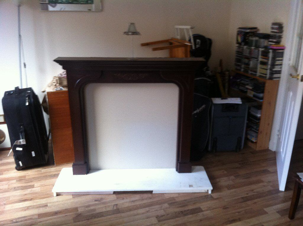 Attractive Fire Surround Mantlepiece for sale