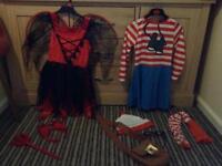 2 X Fancy dress costumes age 5-6