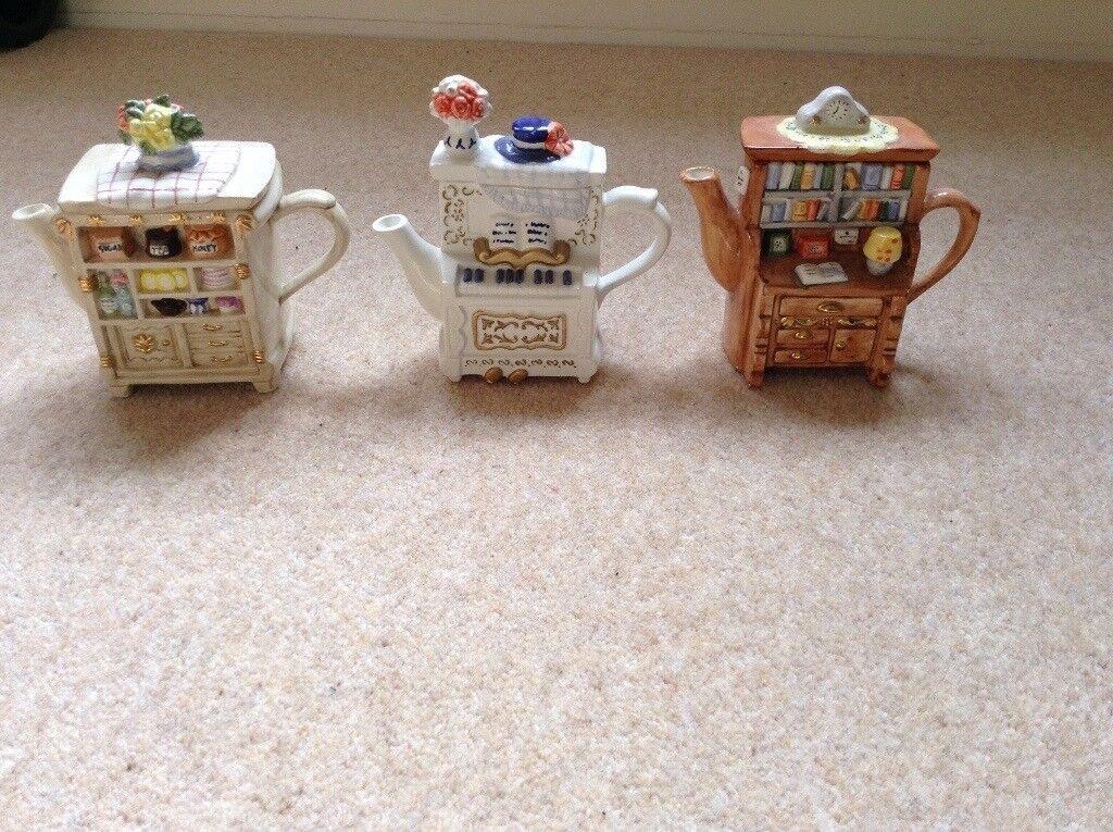Whittard teapots