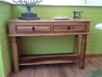 Solid wood Console tables for sale