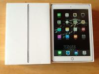 Perfect condition apple iPad air 2 16GB cellular 4G EE + boxed charger usb sim pin ideal gift box