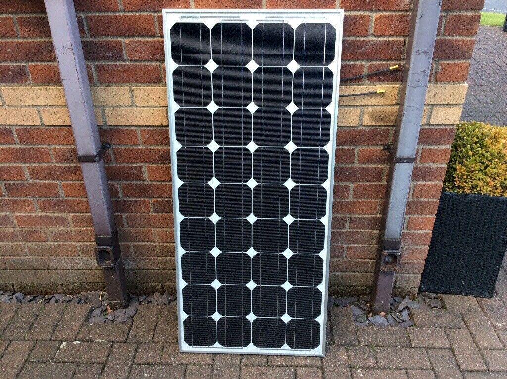 12volt 80 watt solar panel | in Blantyre, Glasgow | Gumtree