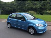 CITROEN C3 1.4SX 2005. ONLY 74,000 MILES. NEW MOT. NEW CAMBELT FITTED AND FULL SERVICE.