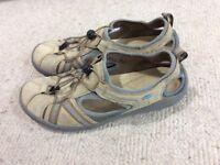 Clarks sandals, size 7