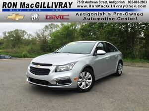 2015 Chevrolet Cruze LT..Camera..One Owner..Low KMs..GM Certifie