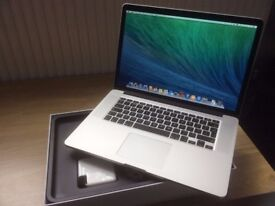 APPLE MACBOOK PRO 15INCHES RETINA 2.5GHZ CORE i7-16GBRAM-512SSD-2015 -ALL BOXED CALL 07707119599