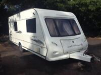 Elddis crusader 2007 fixed bed and moter mover