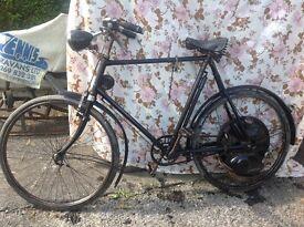 Cyclemaster 32cc hercules bike