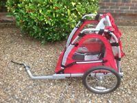 Baby bike trailer (Halford)