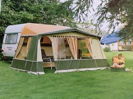 Isabella caravan awning for 10 foot caravan