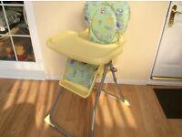 Mamas and papas folding high chair