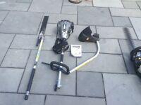 Titan petrol multi tool and Titan petrol hedge trimmer.