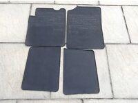 Genuine Renault Clio rubber car mats