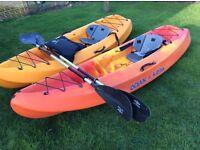 Ocean kayak c/w seats