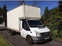 LWB 2.5 Ford Transit Luton Van with tailift