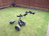 Powacaddy golf trolley, battery & charger.