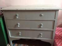 Vintage painted chest of drawers for sale