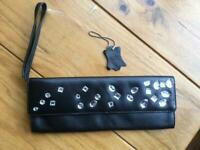 Real Leather Ravel Clutch purse