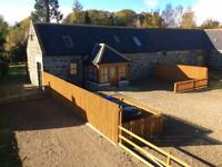Beautiful 3 bedroom barn conversion for rent near Huntly