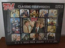 Jigsaw 1000 pieces Classic TV new in sealed packaging