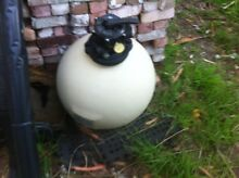 Pool sand filter Heathcote Sutherland Area Preview