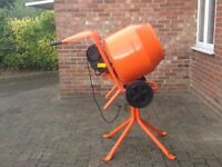 Belle Cement Mini Mixer 150 240V with stand