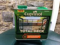 Cuprinol Total Deck NEW decking restorer