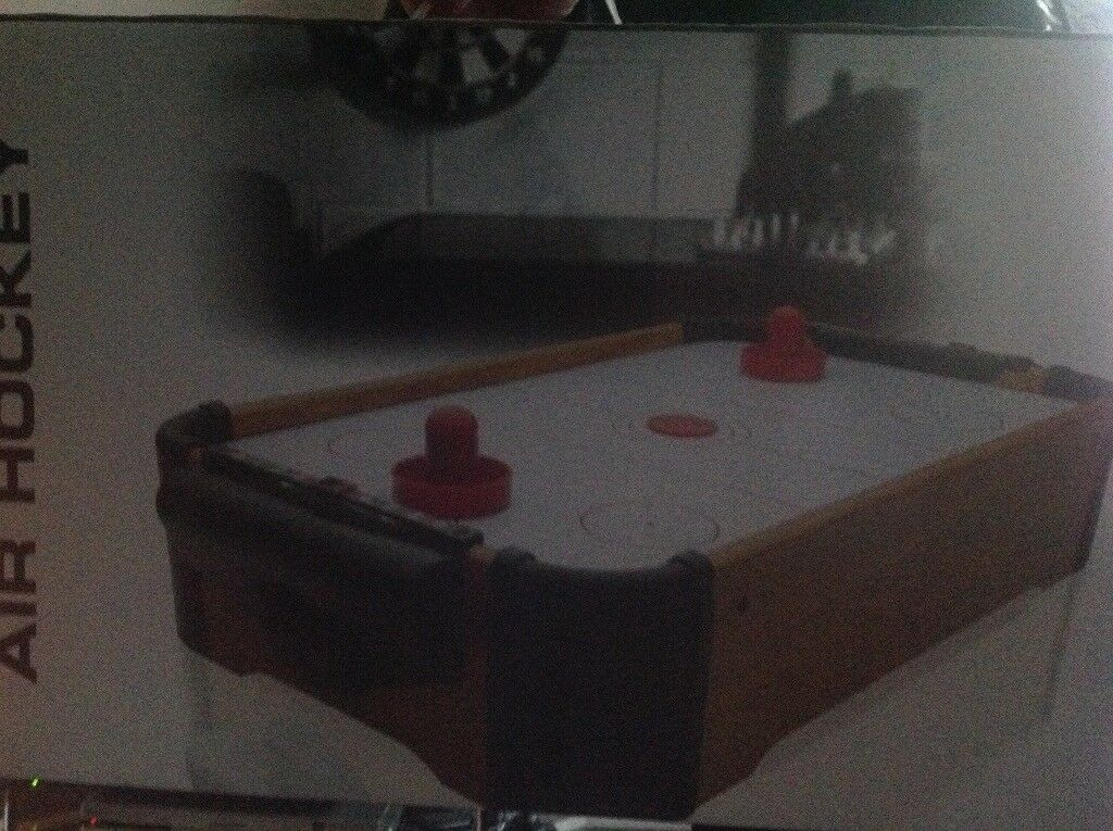 Mini Air Hockey game in box sealed