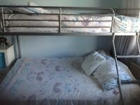 Triple Bunk Beds including mattresses