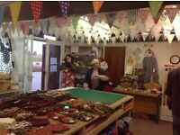 Craft Fabric Clearance Sale - quilting squares bunting - 8th October 10am - 1pm Up to 75% reduction