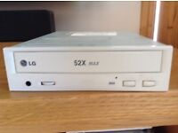 LG 52x speed disc drive never used.
