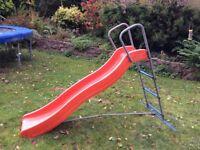 5 ft wavy children's garden slide