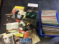 Large collection of classical records