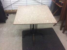 Garden marble table