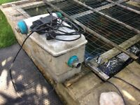 Pond filter/pump