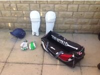 Cricket equipment would suit age 12/15 yrs