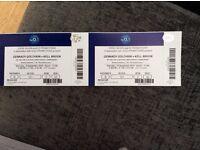 Golovkin V Brook boxing tickets x2
