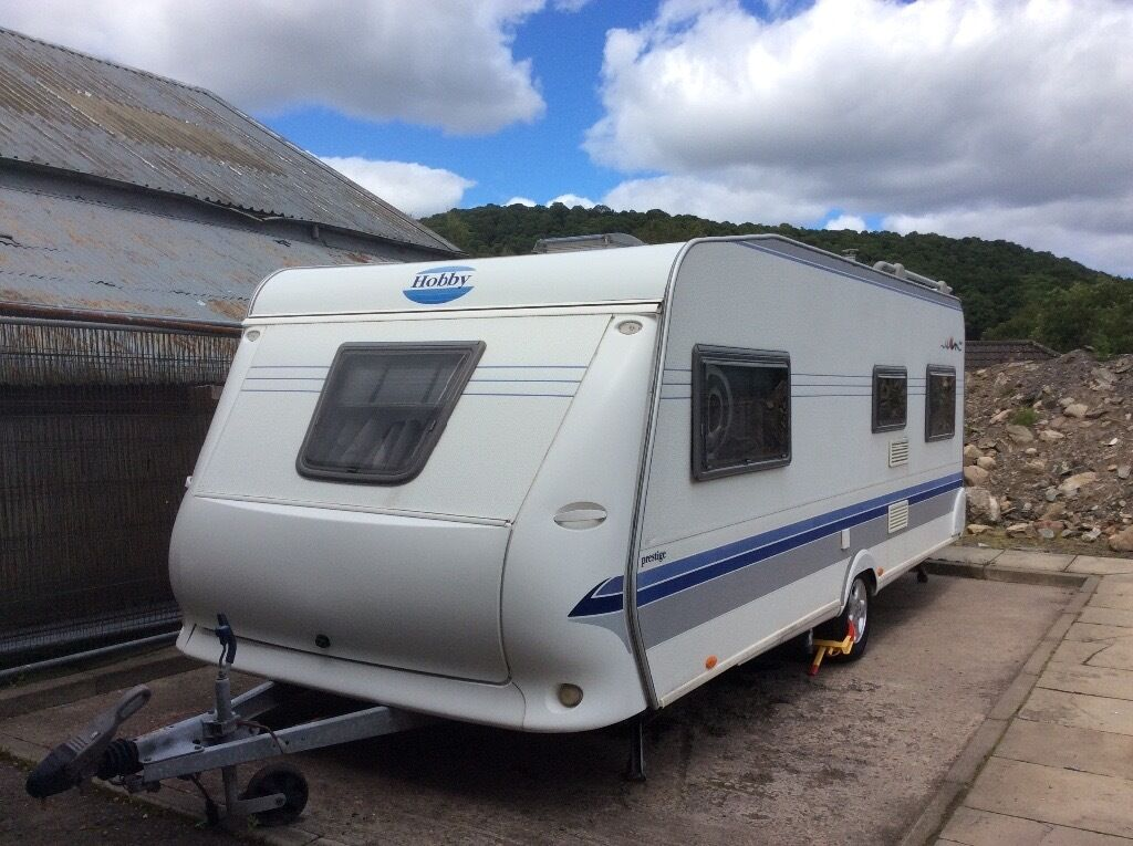 Hobby Prestige 560uk Single Axle Fixed Bed Viewing St