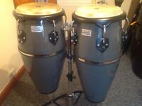 "TOCA 10"" & 11"" PLAYER SERIES CONGAS WITH DOUBLE STAND"