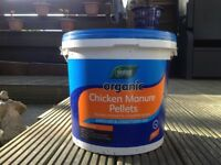 10kg Tubs Organic Chicken Manure Pellets