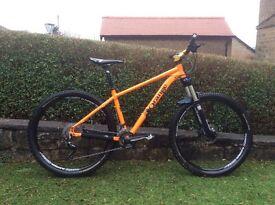Orange Mountain Bike