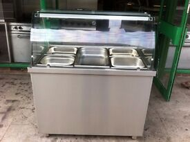 CATERING COMMERCIAL BAIN MARIE HOT FOOD WARMER UNIT CAFE KEBAB CHICKEN KITCHEN RESTAURANT BAR SHOP