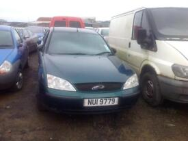 2002 FORD MONDEO LX 1.8 PETROL BREAKING FOR PARTS ONLY POSTAGE AVAILABLE NATIONWIDE